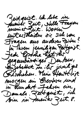 Zeitgeist-Text